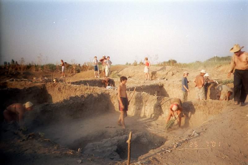 Археологическая экспедиция МПГУ, Патрей, 2001 год — фотоальбом