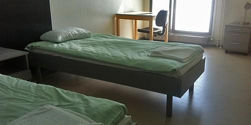 Hostel Domus Academica в Хельсинки, июль 2013