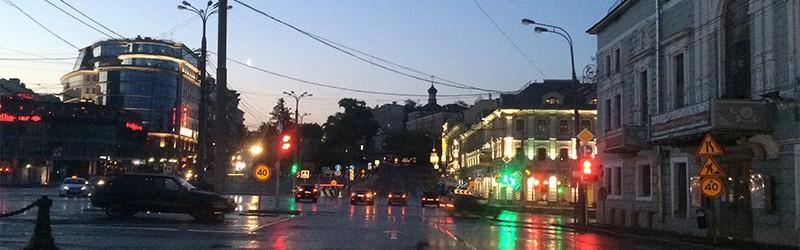 Майская ночная автопрогулка по Москве