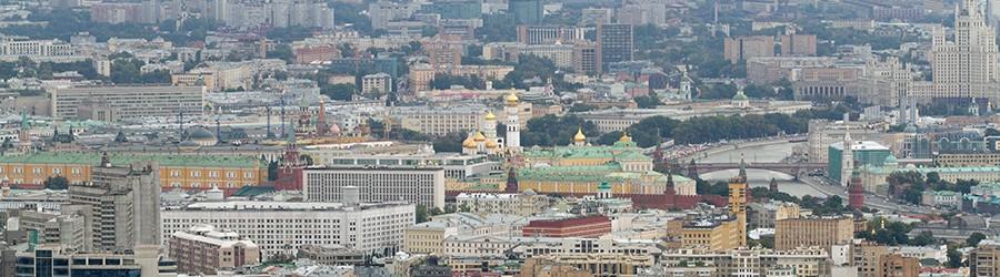 «Забег в высоту» и вид на город с башни в Сити