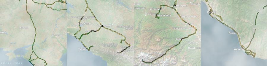 На юг-2016: программы в дорогу