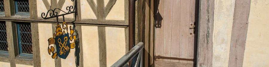 Переночевать в Мон-Сен-Мишель: отель Auberge Saint Pierre