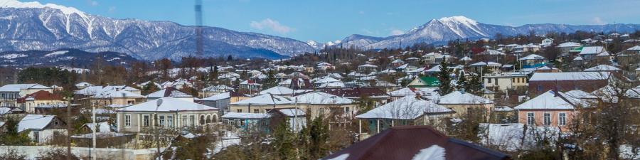 Экскурсия в заснеженную Абхазию