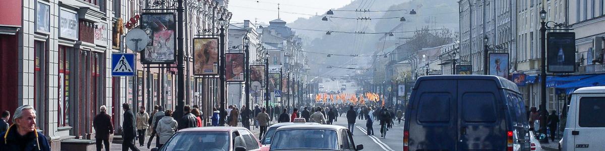 Киев в октябре 2004
