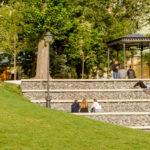 Парк «Горка» в Б. Спасоглинищевском переулке